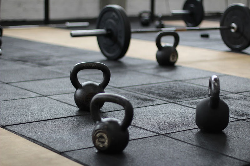 workout equipment for workers