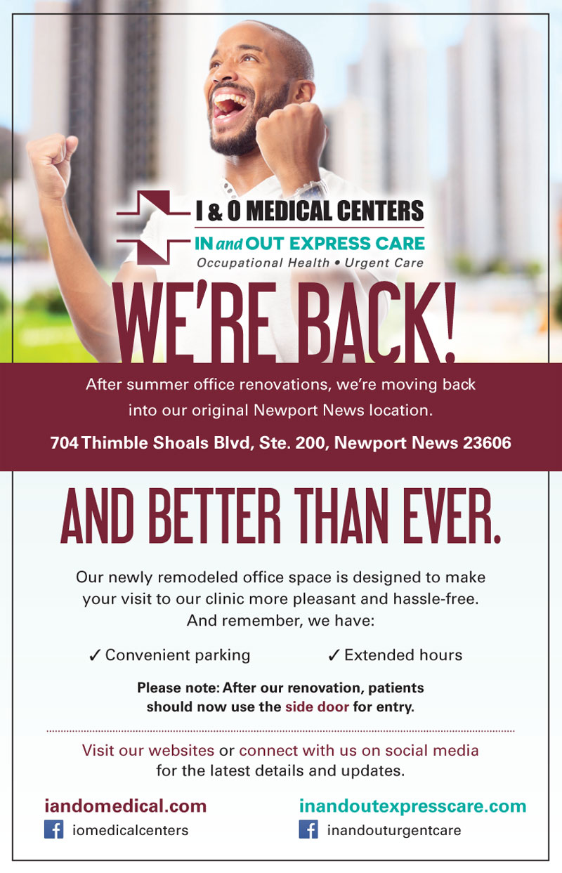 Newport News reopening flyer